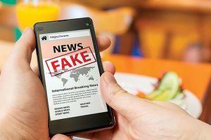 Tin giả trên mạng: Cảnh giác với chiêu trò 'ném đá giấu tay'
