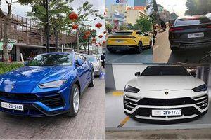 Dàn siêu SUV Lamborghini Urus 'biển khủng' tại Campuchia