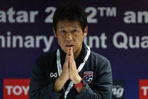 HLV Akira Nishino thừa nhận đội tuyển Thái Lan chịu nhiều áp lực