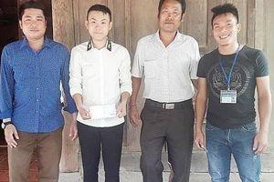 Nam sinh Nghệ An dũng cảm lao xuống dòng nước lũ cứu 2 người