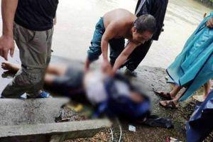 Hà Tĩnh: Một công an viên bị nước cuốn trôi xuống cống, tử vong