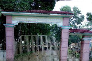 Hà Tĩnh: Nhiều trường học hoãn khai giảng do mưa lũ