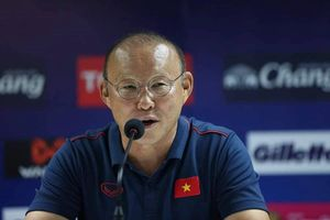 HLV trưởng Park Hang-seo: 'Tôi và các cầu thủ đã chuẩn bị để thi đấu tốt nhất'