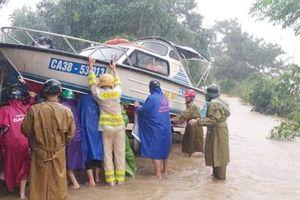 Hà Tĩnh: Tiếp tục mưa to khiến 27 xã ngập lụt