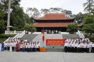 Công ty CP Supe phốt phát và hóa chất Lâm Thao: Báo công dâng Bác tại Khu di tích lịch sử K9