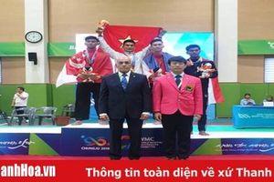 Võ sỹ Nguyễn Ngọc Toàn giành HCV Pencak Silat tại Đại hội võ thuật thế giới 2019