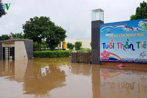 173 trường học ở Quảng Trị phải hoãn lễ khai giảng do mưa lũ