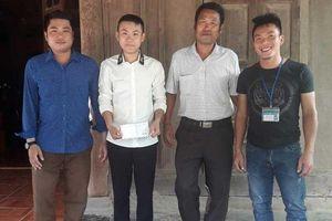 Chàng trai 17 tuổi cứu sống hai người bị nước lũ cuốn