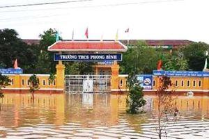 928 điểm trường ở miền Trung hoãn tổ chức khai giảng do mưa lũ