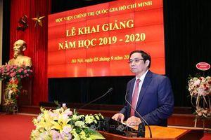 Học viện Chính trị quốc gia Hồ Chí Minh khai giảng năm học 2019- 2020