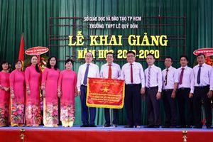 Bí thư Thành ủy TP.HCM dự khai giảng tại Trường THPT Lê Quý Đôn