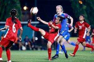 Nữ Việt Nam trắng tay ở giải U15 quốc tế 2019
