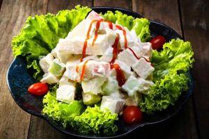 Bí quyết làm salad rau trộn mayonnaise giảm cân 'thần tốc'