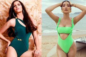 Đọ sắc Hoàng Thùy và Hoa hậu Hoàn vũ Thái Lan: Body nóng bỏng một 9 một 10, tài năng ngang tài ngang sức