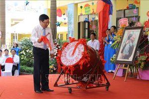 Lãnh đạo Đảng, Nhà nước động viên học sinh miền núi tại Lễ khai giảng năm học mới
