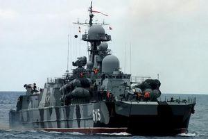 Tàu tên lửa đệm khí hai thân độc nhất vô nhị của Hải quân Nga