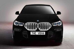 'Soi' BMW X6 bản đặc biệt sở hữu màu sơn đen nhất thế giới