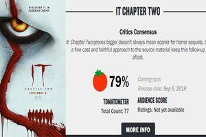 Bất ngờ với số điểm mà bộ phim IT Chapter 2 dành được trên trang Rotten Tomatoes