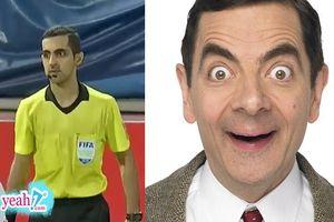 Góc hài hước: Xuất hiện vị trọng tài giống hệt Mr Bean bắt trận Việt Nam gặp Thái Lan