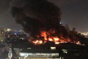 Công an Hà Nội thông tin nguyên nhân vụ cháy nhà máy Rạng Đông