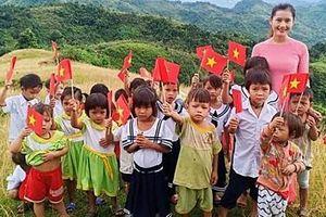 Ấn tượng lễ khai giảng của cô và trò vùng cao Quảng Nam