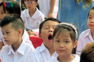 Những hình ảnh ấn tượng trong lễ khai giảng năm học mới
