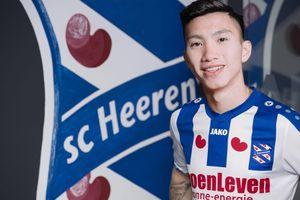 SC Heerenveen gửi lời chúc tới Đoàn Văn Hậu trước trận gặp Thái Lan