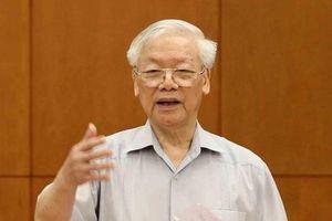 Tổng Bí thư, Chủ tịch nước chủ trì họp Tiểu ban Văn kiện Đại hội Đảng