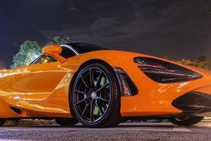 Siêu xe McLaren 720S của Cường Đô La độ mâm hàng hiệu hơn 10.000 USD