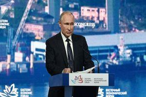 Ông Putin đề xuất thiết lập cơ chế đặc biệt để giải quyết căng thẳng tại Eo biển Hormuz