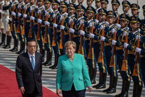 Thăm Trung Quốc, Thủ tướng Angela Merkel kêu gọi 'giải pháp hòa bình' cho Hồng Kông