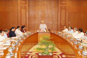 Tổng Bí thư, Chủ tịch nước chủ trì họp Tiểu ban Văn kiện Đại hội XIII của Đảng