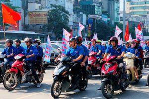 Tuổi trẻ Dầu khí tham gia Ngày hội 'Thanh niên với văn hóa giao thông'