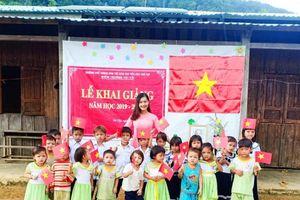 Cô giáo trẻ chia sẻ về lễ khai giảng 34 học sinh trên đỉnh núi