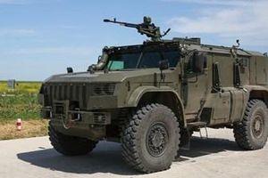 Nga công bố xe bọc thép mới chuyên bảo vệ vũ khí hạng nặng