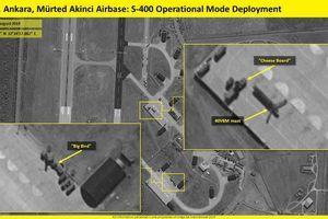 Vệ tinh Israel phát hiện vị trí Thổ Nhĩ Kỳ triển khai hệ thống S-400 mới mua của Nga