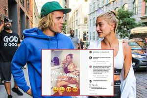 Justin Bieber tự hào khoe ảnh vợ để mặt mộc quá đỉnh, phản ứng của Hailey Baldwin gây chú ý
