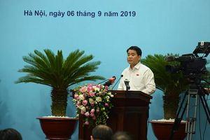 Chủ tịch Hà Nội: 'Bệnh tật rất âm thầm, dùng nước chưa sạch da cũng không thể đẹp'