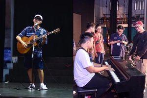 Nguyễn Trọng Tài, Cam và các giọng ca Indie Hà Nội ráo riết tổng duyệt cho đêm diễn 'Emeii'
