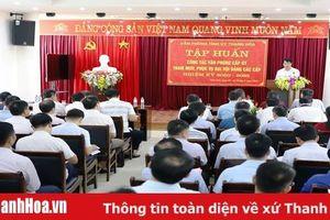 Tập huấn công tác tham mưu, phục vụ đại hội Đảng các cấp nhiệm kỳ 2020 - 2025