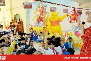 Thư viện An Giang tổ chức hoạt động ngoại khóa cho học sinh tiểu học nhân Tết Trung thu 2019
