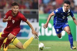 Quang Hải và Chanathip Songkrasin bị chê tơi tả sau trận Việt Nam vs Thái Lan