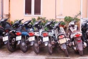 Triệt phá ổ nhóm trộm cắp xe máy liên tỉnh chuyên dùng dây thép cản truy đuổi của người dân