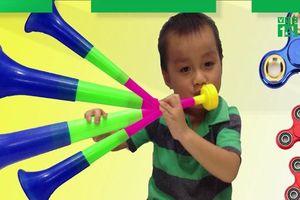 Trẻ có thể bị thủng hoàn toàn màng nhĩ vì món đồ chơi quen thuộc