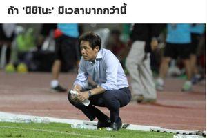 Báo Thái Lan bảo vệ HLV Nishino khỏi chỉ trích