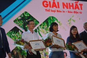 Báo Người Lao Động đạt giải báo chí về du lịch TP HCM