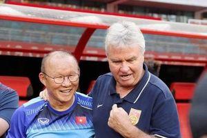 Ông Park nóng lòng đối đầu với 'phù thủy' Guus Hiddink