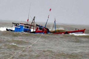 Tàu cá Nghệ An bị chìm trên biển Quảng Bình: Vợ khóc ngất gọi tên chồng