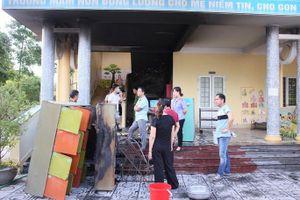 Cháy trường mầm non, các cô giáo sơ tán an toàn 118 trẻ