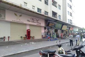 Nóng: Nổ lớn ở chung cư Linh Đàm, 4 người bị thương